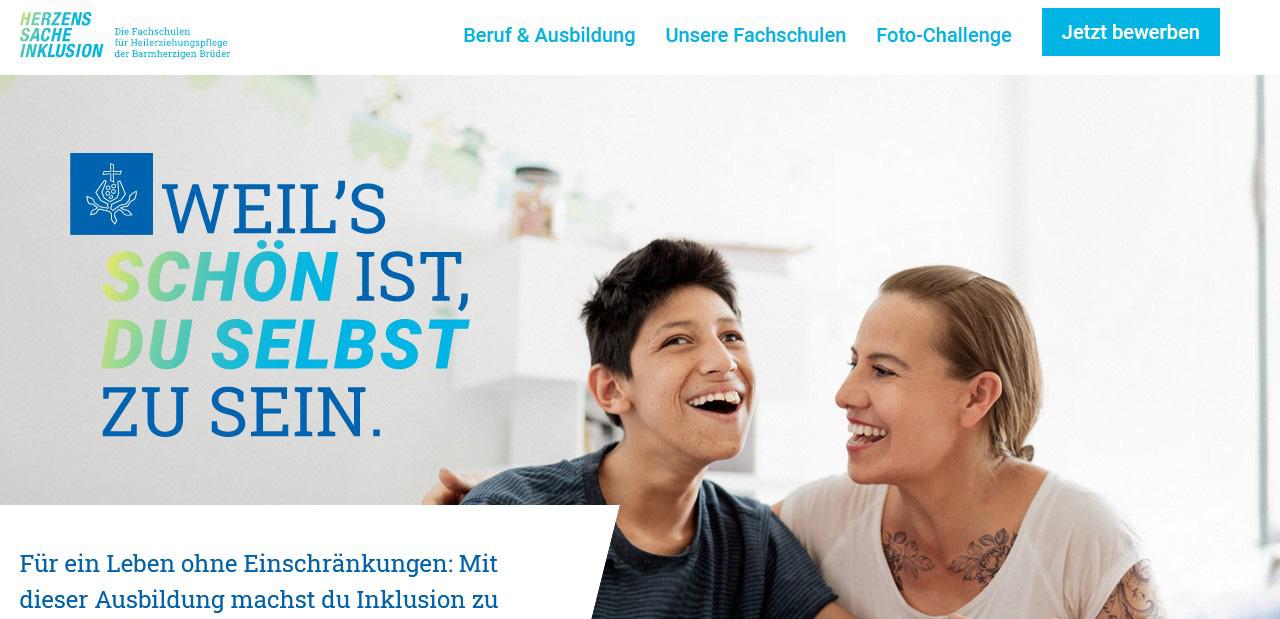 Fachschulen-Webseite